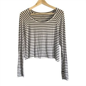 American Eagle Sift&Sexy Striped long sleeve tee